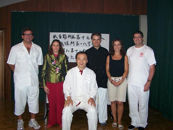 Ceremonia Discípulos Maestro Sun Junqing 2006 – 2