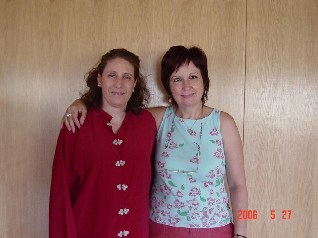 Ana Zaragoza y Elena Sánchez