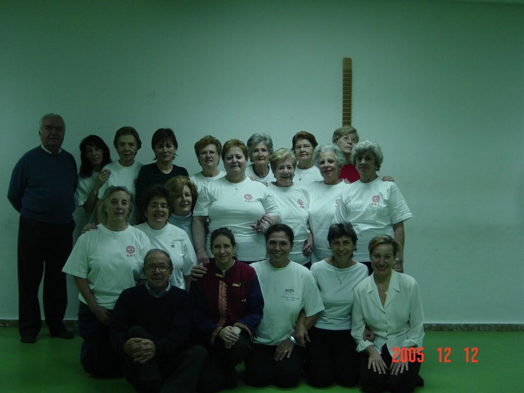 Grupo Wubaomen Qi Gong 8 en Centro Santa Hortensia De Servicios Sociales de Madrid