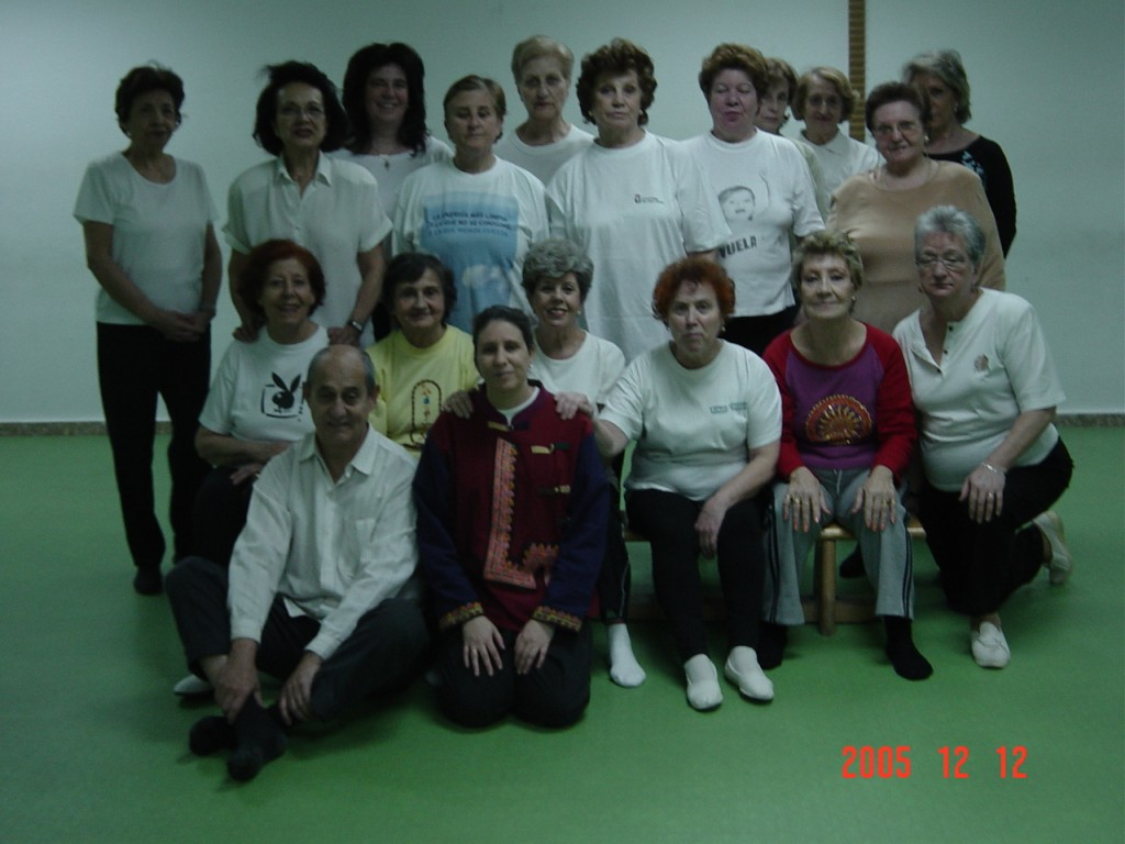 Grupo Wubaomen Qi Gong 6 en Centro Santa Hortensia De Servicios Sociales de Madrid