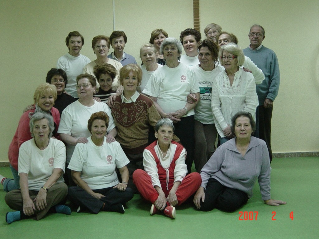 Grupo Wubaomen Qi Gong en Centro Santa Hortensia De Servicios Sociales de Madrid