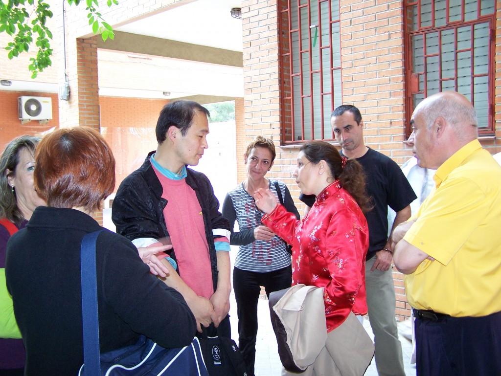 Seminario de Wubaomen Qi Gong en el Pinar con el Maestro Sun Junqing Madrid