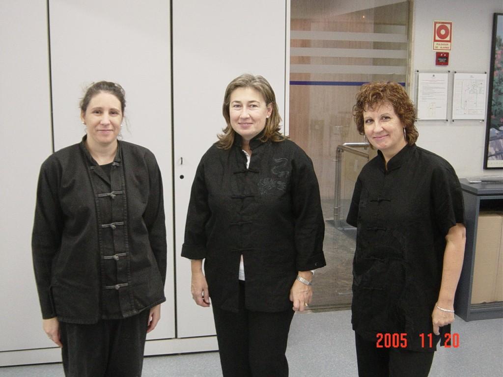 Alumnas de Tai chi de Unión Fenosa sede de Goya