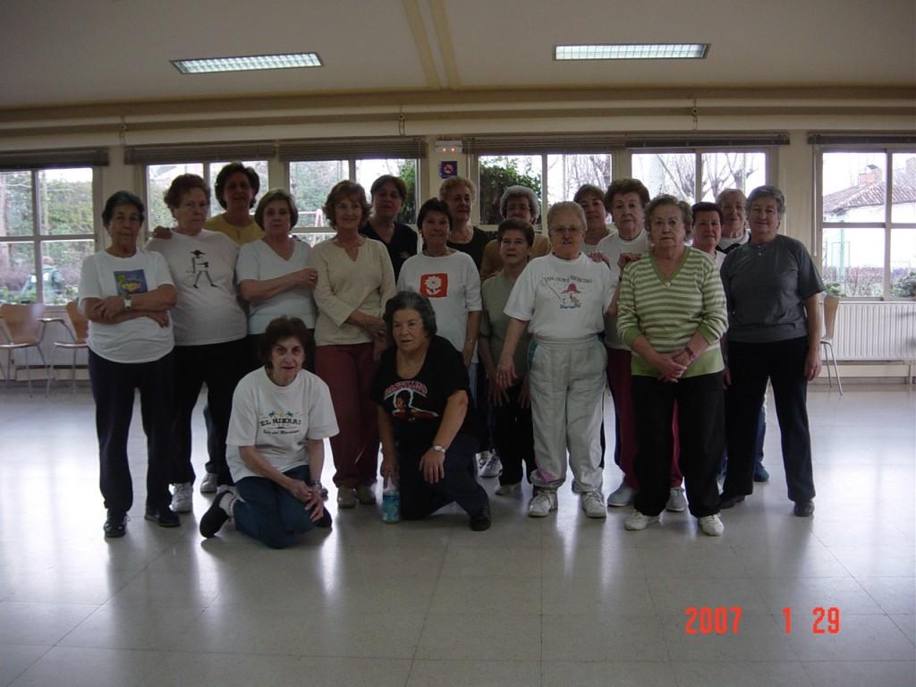 Gimnasia de Mantenimiento Centro Castilla de Servicios Sociales Madrid