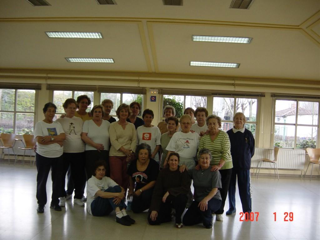Grupo Wubaomen Qi Gong Centro Castilla de Servicios Sociales de Madrid