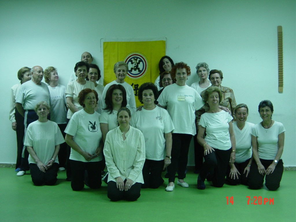 Grupo Wubaomen Qi Gong 5  en Centro Santa Hortensia De Servicios Sociales de Madrid