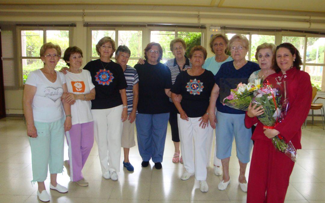 grupo fin de clase gimnasia centro mayores castilla