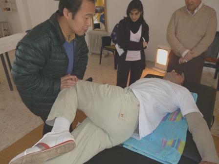 recolocación lumbares y dorsales
